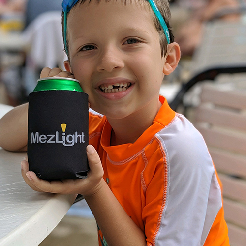 The MezLight Coozie