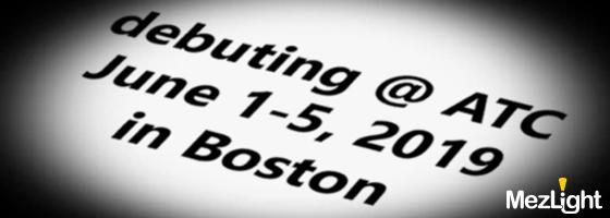 We'll be at ATC 2019 in Boston